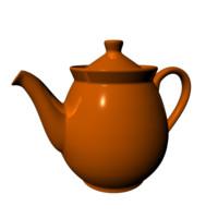 teapot tea 3d model