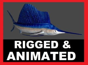 max fish rigged animation