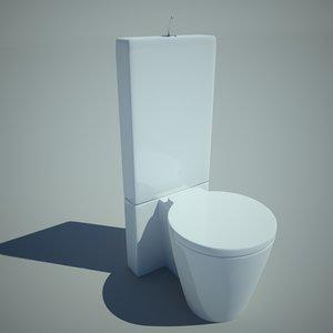 3ds toilet bowl