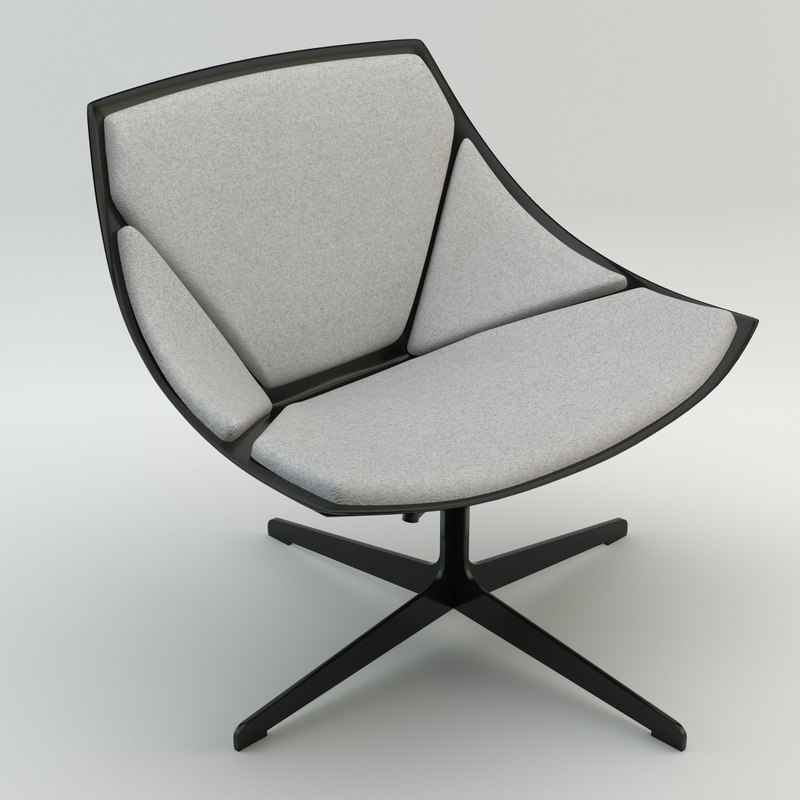 3ds max space chair