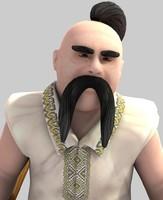 3d character kotygoroshko