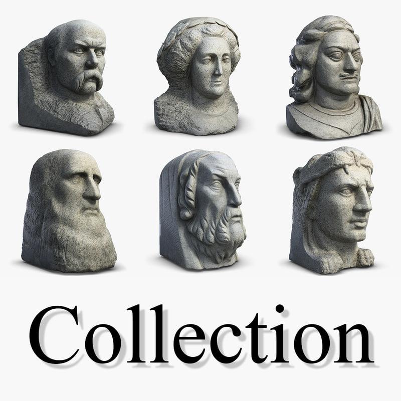 3d 3ds sculptures 3