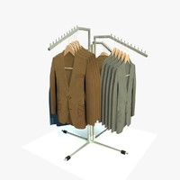 3d model clothes jackets