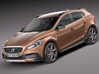 v40 cross country 2013 3d model