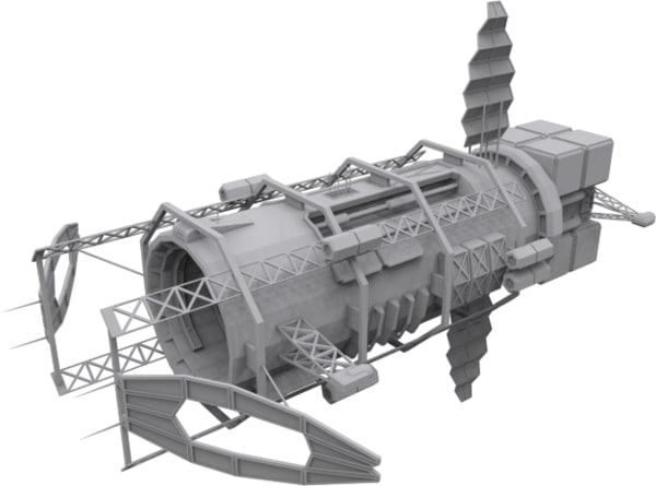 3d blackstar spaceships mining syndicate