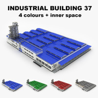 3ds large industrial building 37