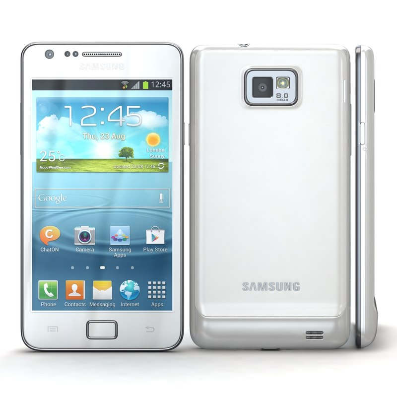 3d model samsung i9105 galaxy s
