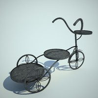 shod bicycle 3d model