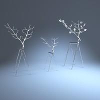 Twig reindeer
