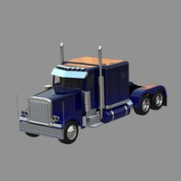 heavy truck toy car peterbilt 379