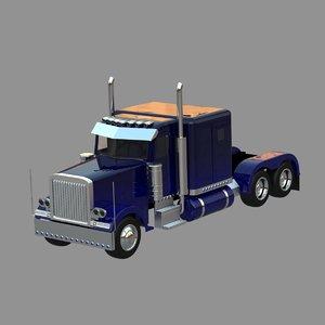 lwo heavy truck 379 toy car