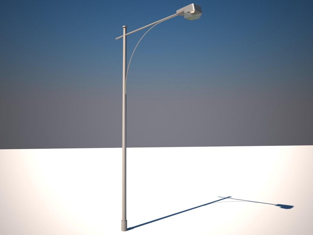 tokyo street lamp 3d max