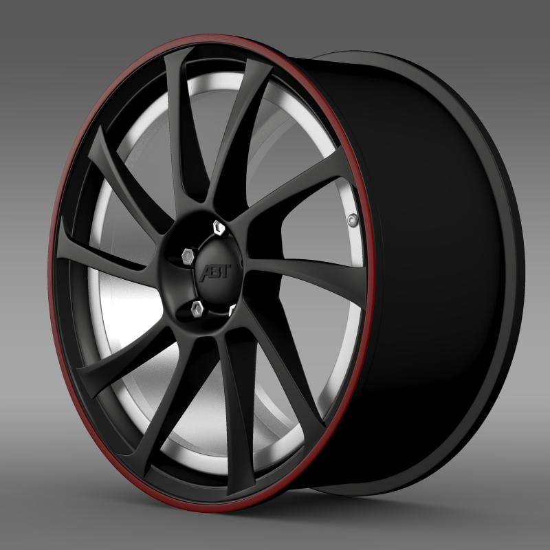 beetle abt 2012 rim 3d model