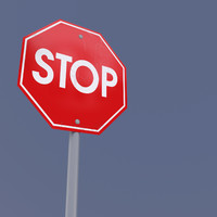 Sign Stop Max2011