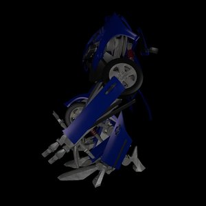 3ds transformer golf 3