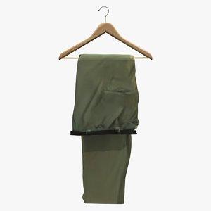 trouser hanger 3d c4d