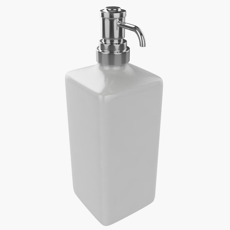 3d model hand wash