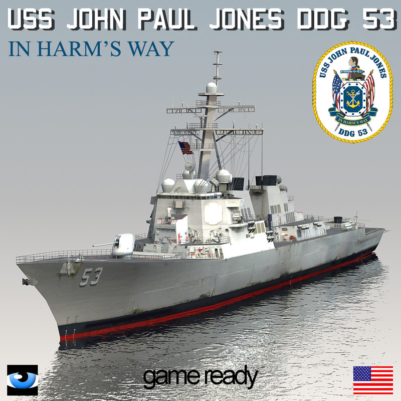 uss john paul jones max