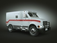 Armored bank VAN