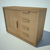 blu notte cabinet 3ds