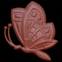 3d butterfly 001