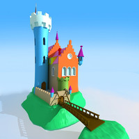 max cartoon castle