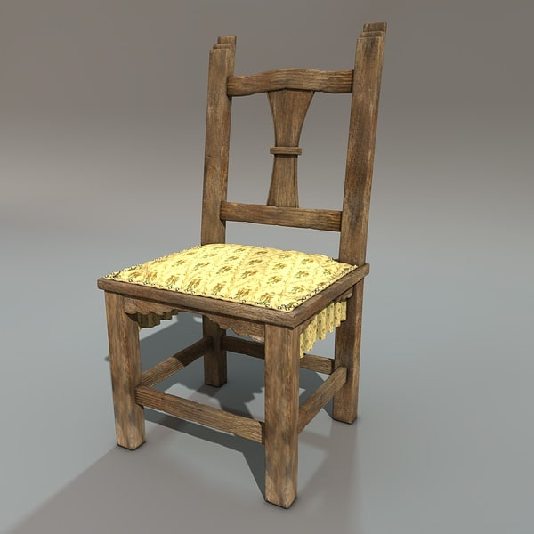 c4d chair fabric uphalstery