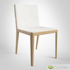 3dsmax el chair b italia
