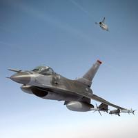 f-16 jet fighter 3d 3ds