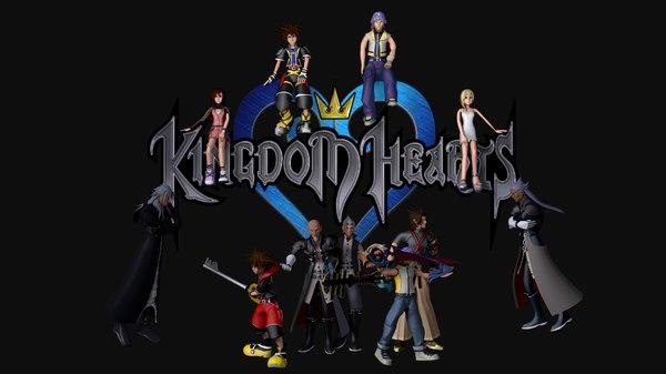 3d kingdom hearts s model