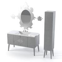 oasis bathroom furniture 3d model