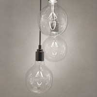 hanging bulb pendant light 3d max