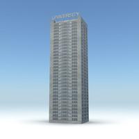 skyscraper 20 day night obj