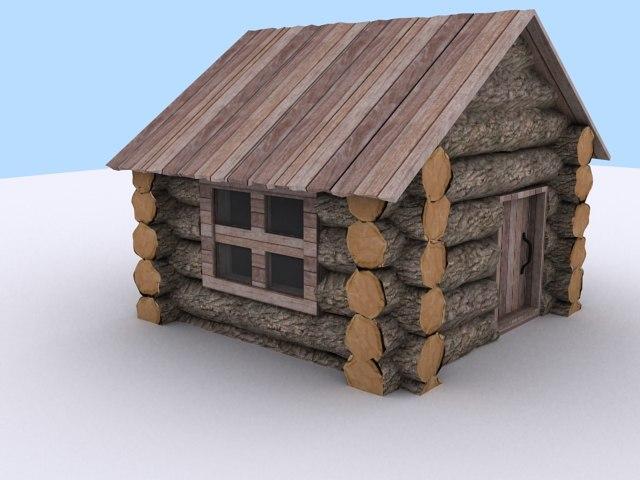 3dsmax village house