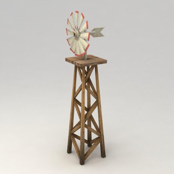 3d wind farm