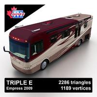 3d 2010 triple e empress model