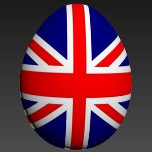 3d obj egg