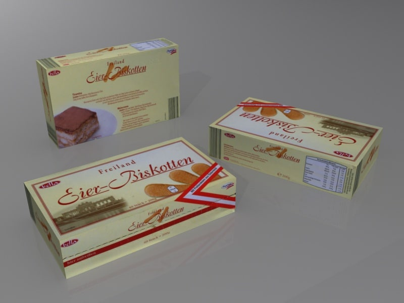 3ds max biscuit box