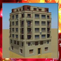 3d building 34 model