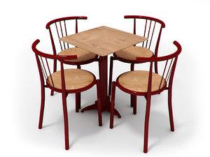 chairs portuguese 3d max