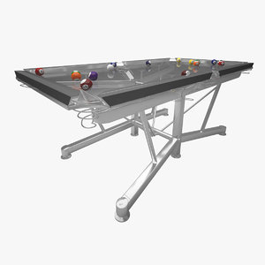 maya pool table billiard