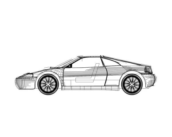 free base car 3d model