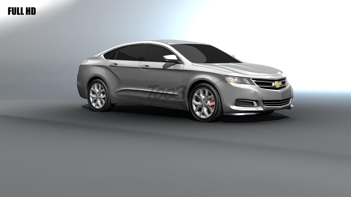 chevy impala 3d max