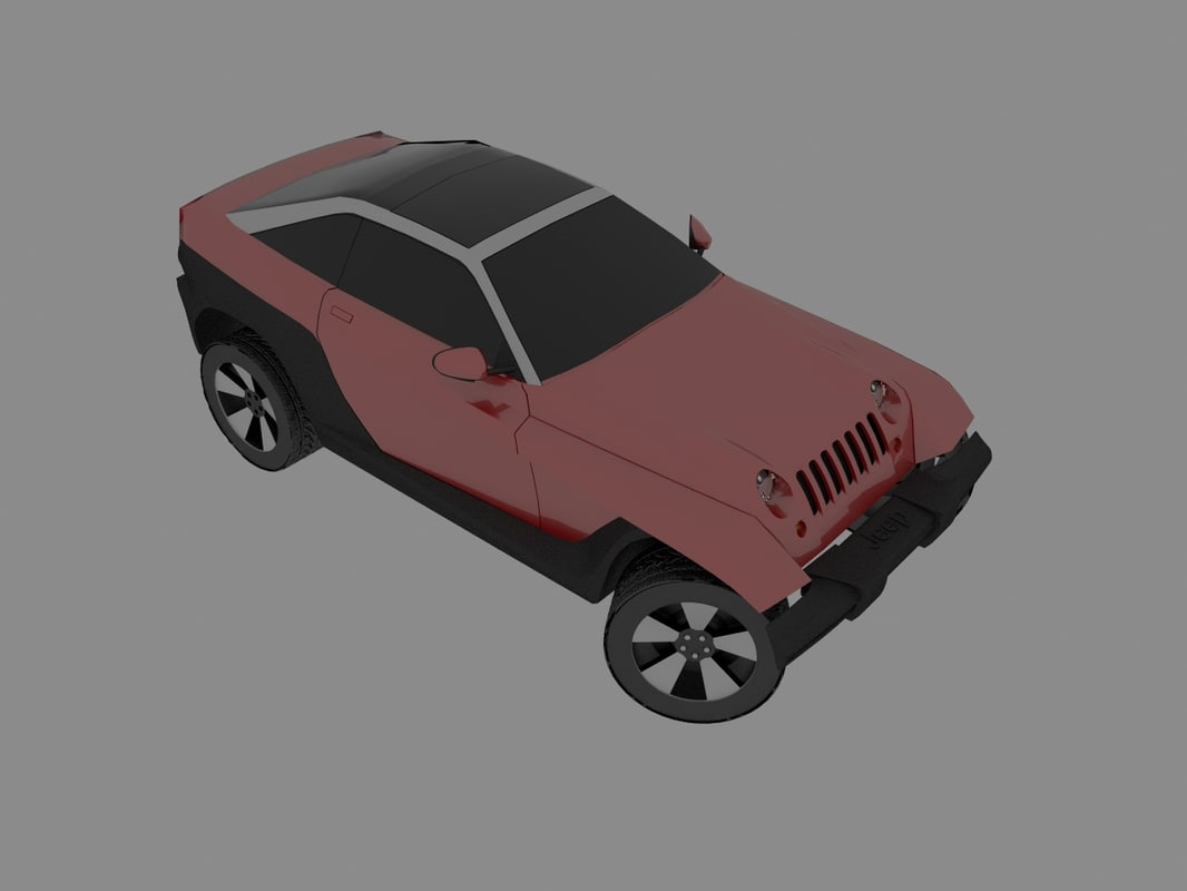 3d jeepster jeep