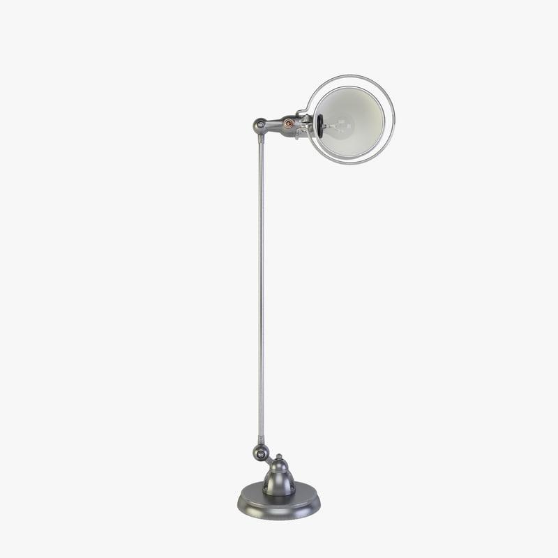 max loft floor lamp d1200