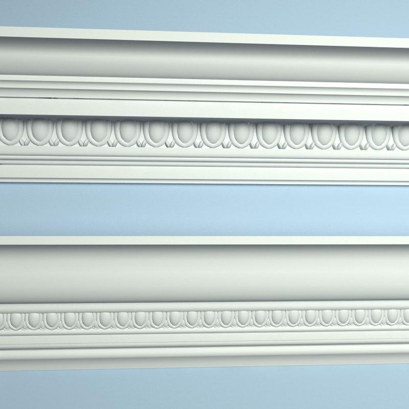 3ds max cornice molding