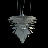3d artichoke light