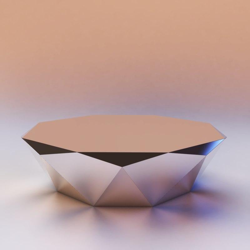 3d bretz stealth coffee table model