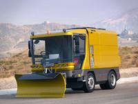 Ravo 560 snowplow truck