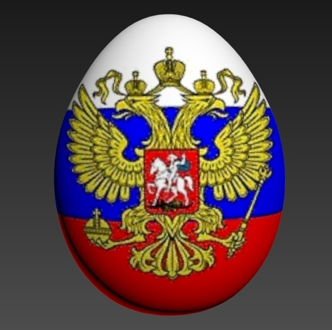 3d model egg